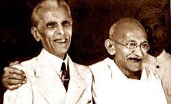 Jinnah and Gandhi